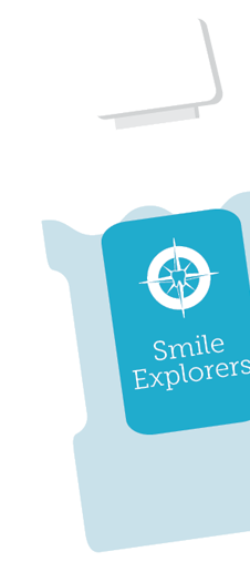 Mouthwash background graphic | Smile Explorers