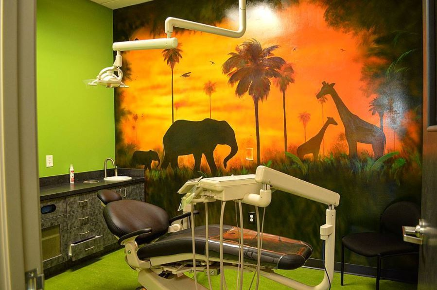 Smile Explorer Pediatric Dentistry exam room