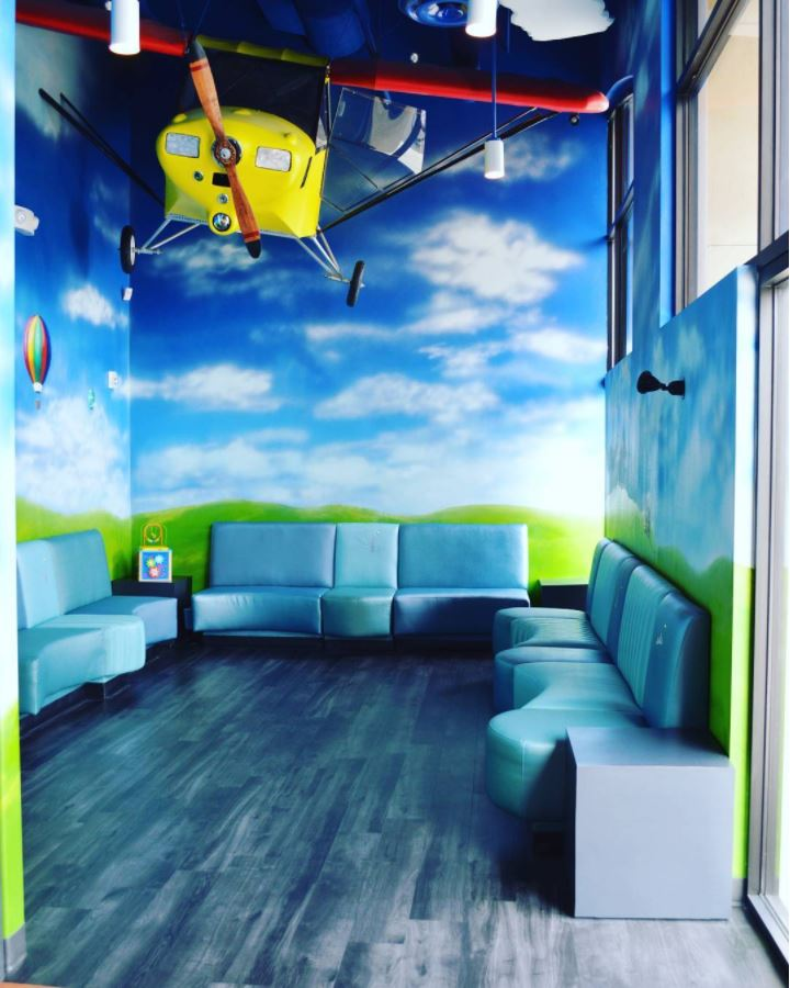 Smile Explorer Pediatric Dentistry waiting room