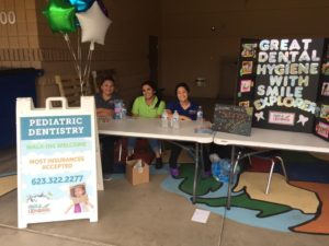 Great Dental Hygiene with Smile Explorers at Sunrise Elementry School | Deer Valley Pediatric Dentist