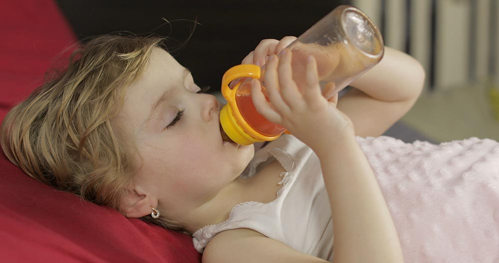 Can a Bottle at Bedtime Cause Cavities?