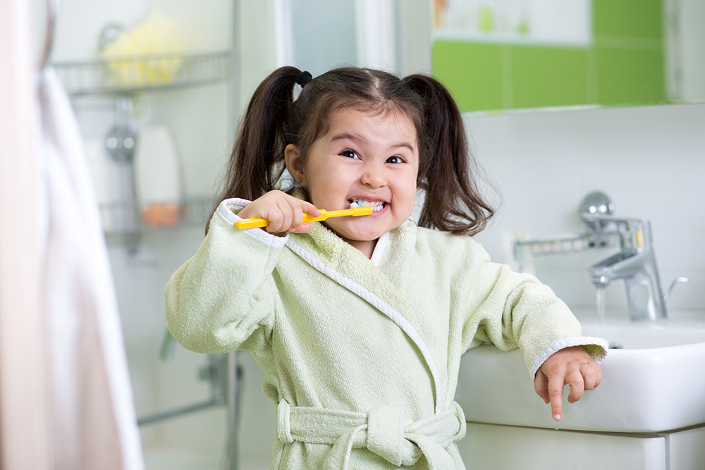 Is Your Child Brushing His/Her Teeth Too Hard?
